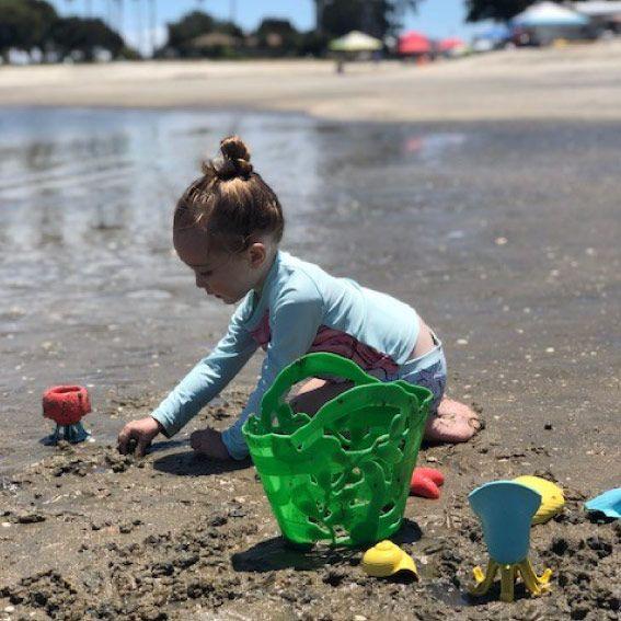 ¡A jugar en la arena!